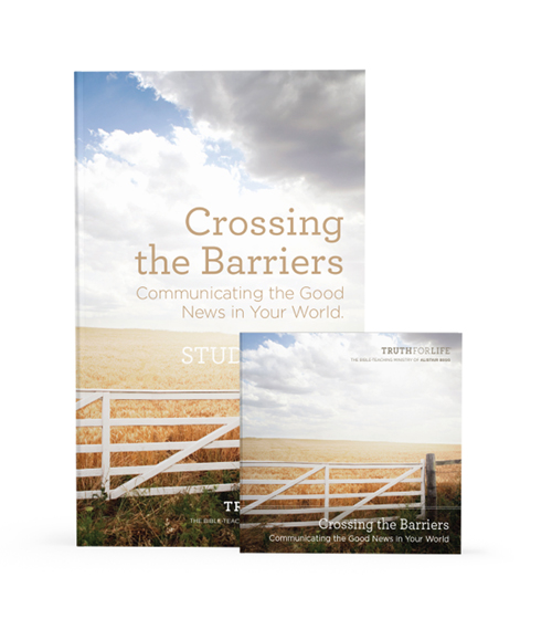 Crossing The Barriers Audio Series with Study Guide
