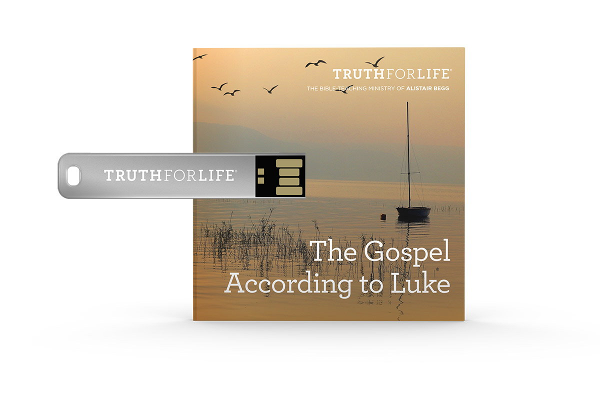 The Gospel According to Luke, Eleven Volume Set (USB)