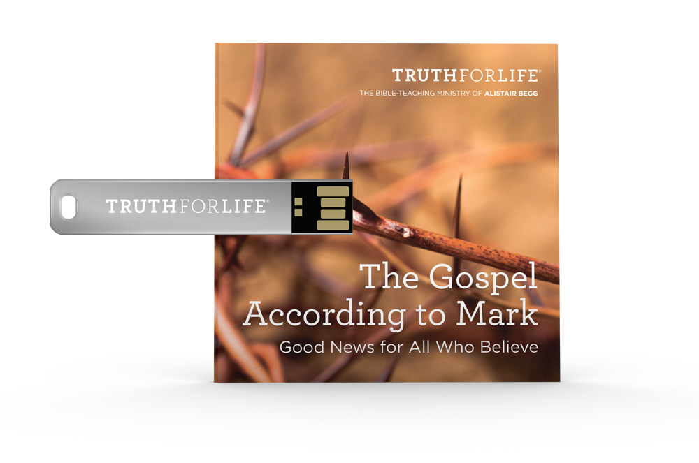 The Gospel According to Mark, Eight Volume Set (USB)